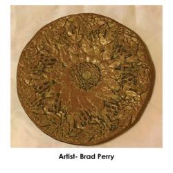 brad-perry-sunflower-plate-frame